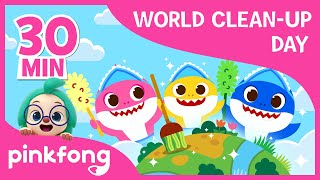Clean The Sea and more | World Clean-up Day | +Compilation | Pinkfong Songs for Children