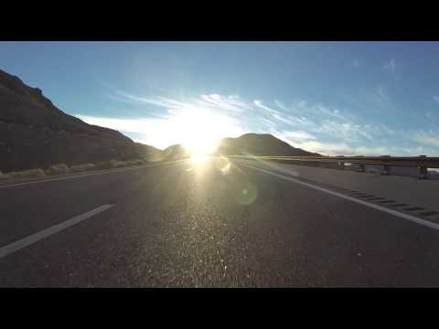 U.S. Route 93 South through Lake Mead National Recreation Area, Arizona, 19 Dec 2015 GP020029
