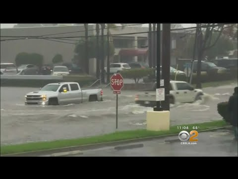 Costa Mesa Businesses Assessing Damage After Surprise Deluge