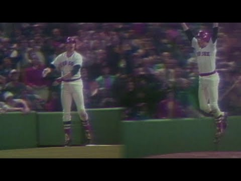 Must C Classic: Fisk waives walk-off home run fair to win Game 6 of 1975 World Series
