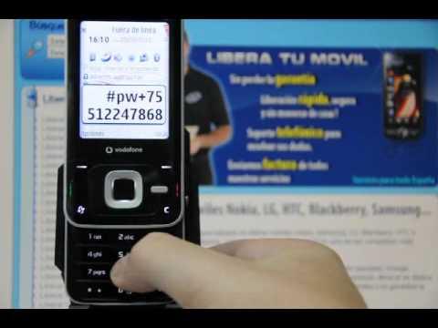 Liberar Nokia N81, cómo desbloquear Nokia N81 de Vodafone - Movical.Net