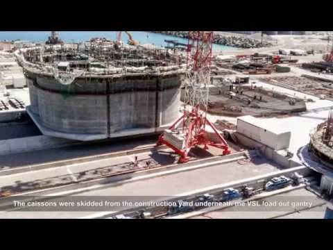 VSL Heavy Lifting: Tangier Med 2 container port