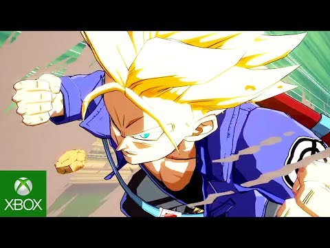 Dragon Ball FighterZ - Trunks Reveal Trailer