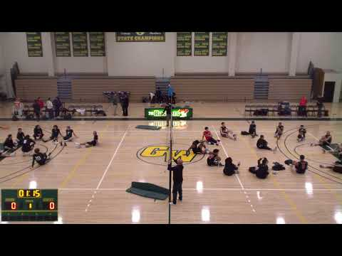 Golden West College Vs. Long Beach City Mens' Volleyball