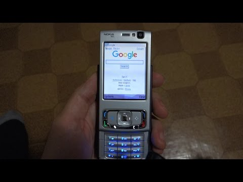 Nokia N95 - Browsing the Web