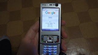 Nokia N95 - Browsing the Web