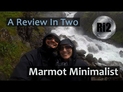 Two-minute Review Of The Marmot Minimalist Rain Jacket