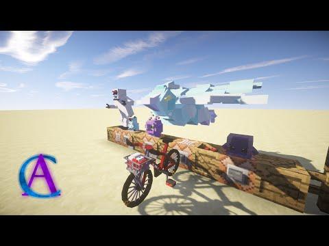 NEW Pokémon, Bikes, Good Rod & Rocks! // Pokémon in Vanilla Minecraft - Mini-Update!