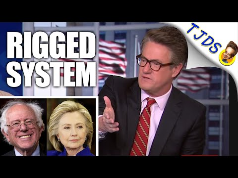 Even Morning Joe Sees Dem System Rigged Against Bernie Sanders