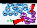 Agar.io Solo Funny Trolling vs BIGGEST Clan Destroy Agar.io Mobile Gameplay