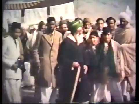 Rare Colour Film Of Jalsa Salana 1949