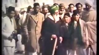 Rare Colour Film of Jalsa Salana 1949