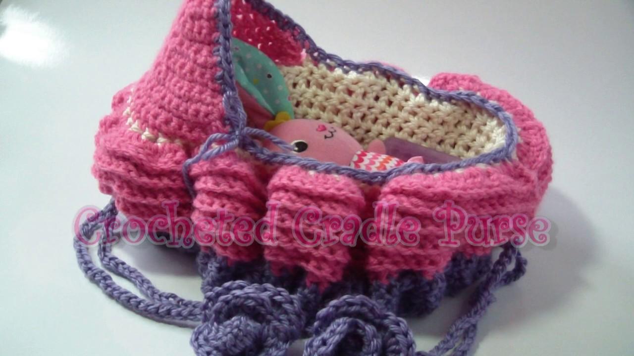 Crochet Cradle Basket Baby Carrier Free Crochet Pattern - by ...   720x1280