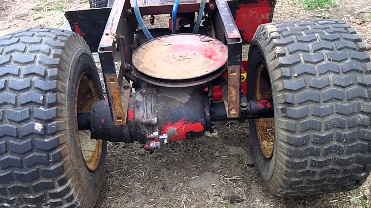 Part 8 Of The 77 Wheel Horse A 90 Re Checking Drive