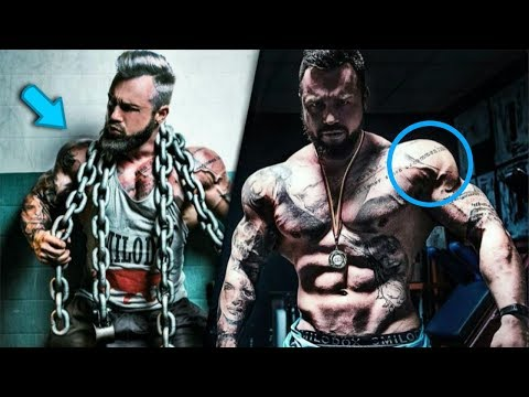 Genetic Freak Insane Tattooed Body Workout Motivation - Jil Road To Glory