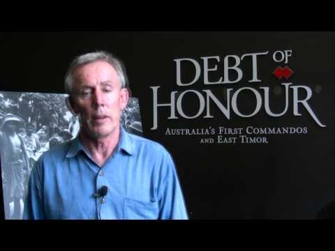 Debt of Honour introduction by Paul Bridges