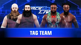 WWE 2K19 The Bludgeon Brothers vs. The New Day