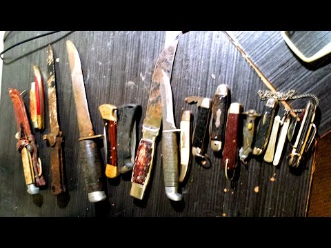 Pocket Knife Haul ~Dirt And Rust