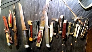 Video Pocket Knife Haul ~Dirt and Rust download MP3, 3GP, MP4, WEBM, AVI, FLV Juni 2018
