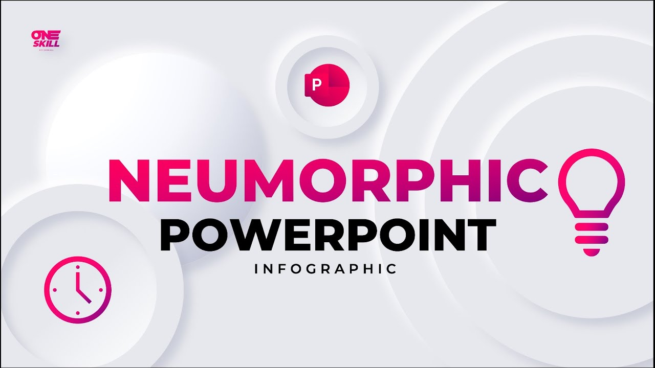 How to Create Animated Neumorphic PowerPoint Infographic