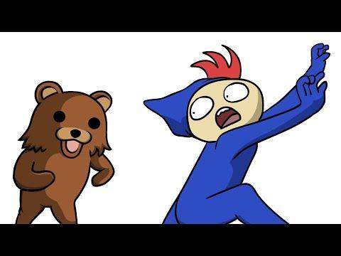 МЕНЯ ХОТЕЛИ СОЖРАТЬ... (анимация)