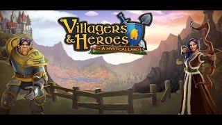 Villagers And Heroes mmorpg Забавы ради. Первый взгляд.