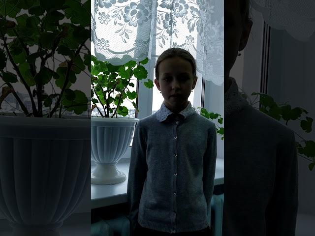Изображение предпросмотра прочтения – ВасилисаТетенькина читает произведение «Весенняя гроза (Люблю грозу вначале мая…)» Ф.И.Тютчева