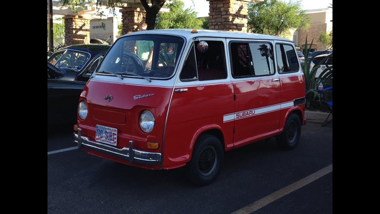 1970 Subaru Micro Minivan at Cars and Coffee Scottsdale ...