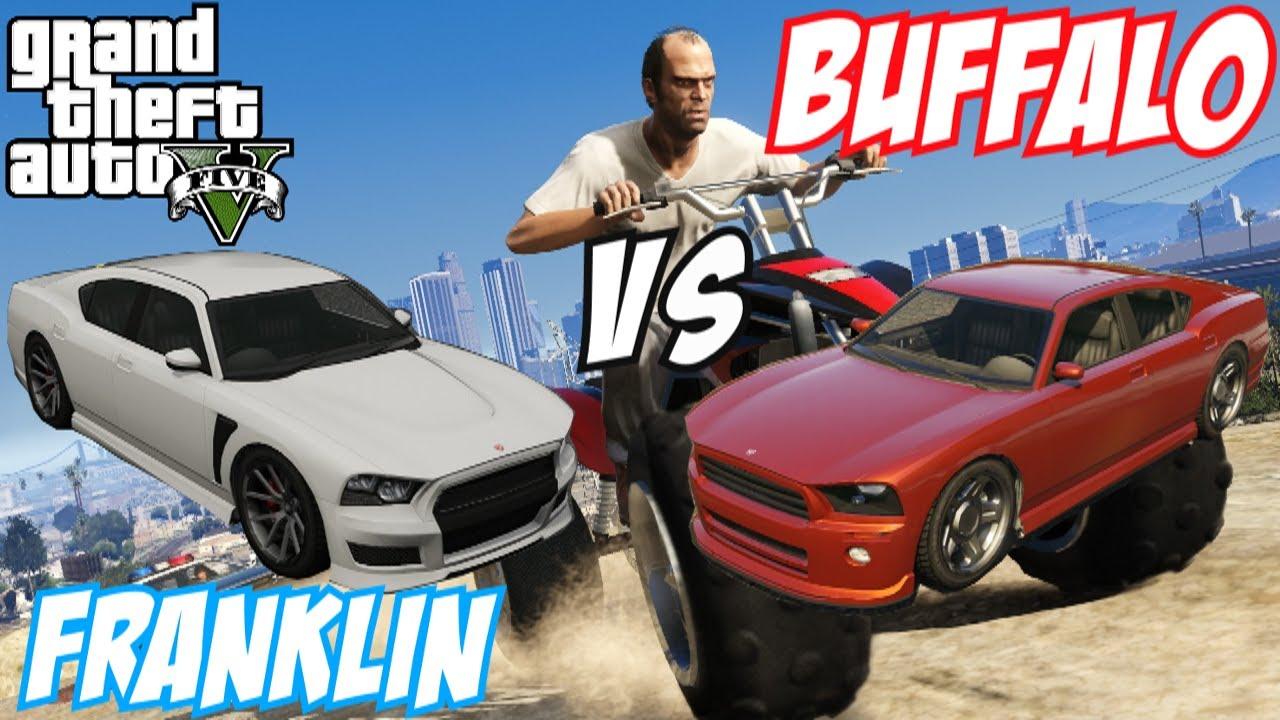 gta 5 franklin s buffalo vs bravado buffalo 11 gta v youtube