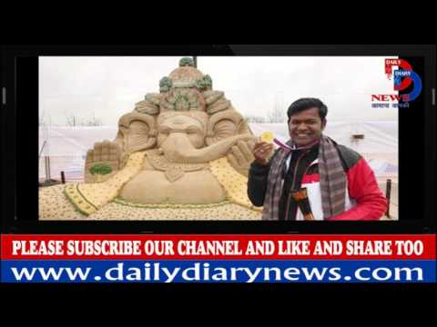 Sudarsan Pattnaik Wins Gold At Moscow Sand Art Competition