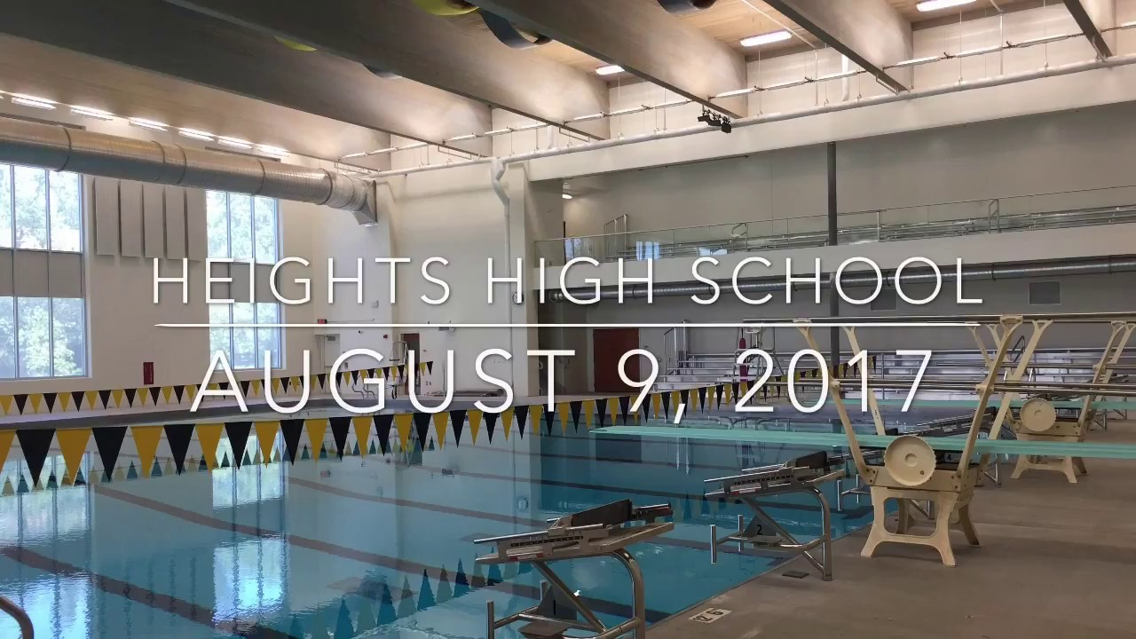 Cleveland heights high school renovation progress august 9 2017 youtube for Cleveland high school swimming pool