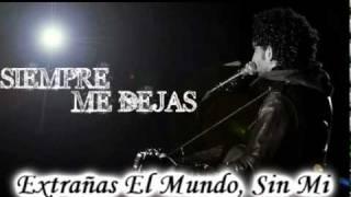 """Posdata - Siempre Me Dejas Subtitulada (Lyric/Letra) [Español](lista de canciones""""resiliente"""""""