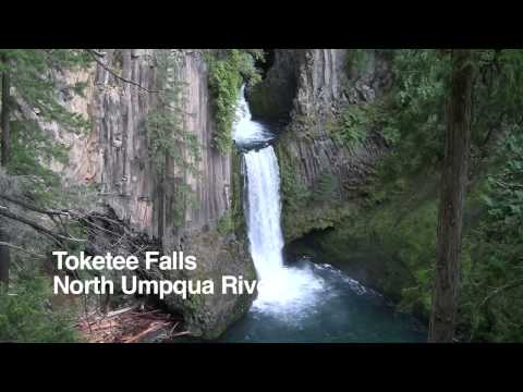 Southern Oregon waterfalls