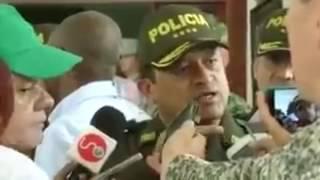 Director de la Policía de Colombia explica que es una protesta pacifica a los opositores venezolanos