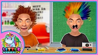 Toca Hair Salon - Mr Bean Gets Extreme Makeover