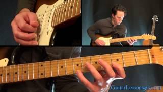 Jump Guitar Lesson - Van Halen - Keyboard Solo on Guitar