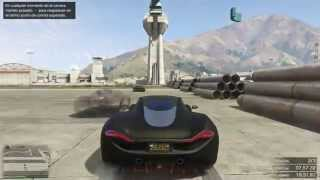 GTA 5 ONLINE - MEGA RAMPAS EN LA BASE!! - CARRERA GTA 5 ONLINE