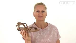 Billi Bi sandal Elegant Sandal (Cognac) item no.: 8714 542