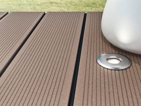 Wood Plastic Composite Decking Board Floor Outdoor