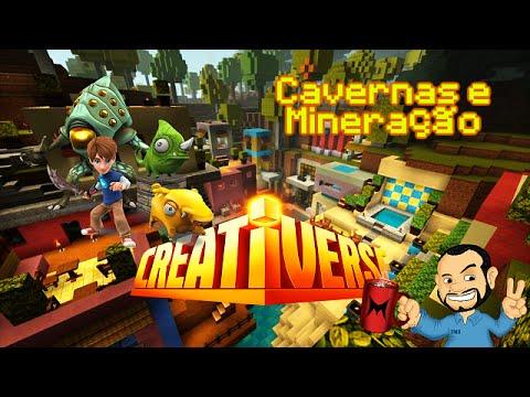 #Creativerse - Caverna e Mineração [PT-BR]