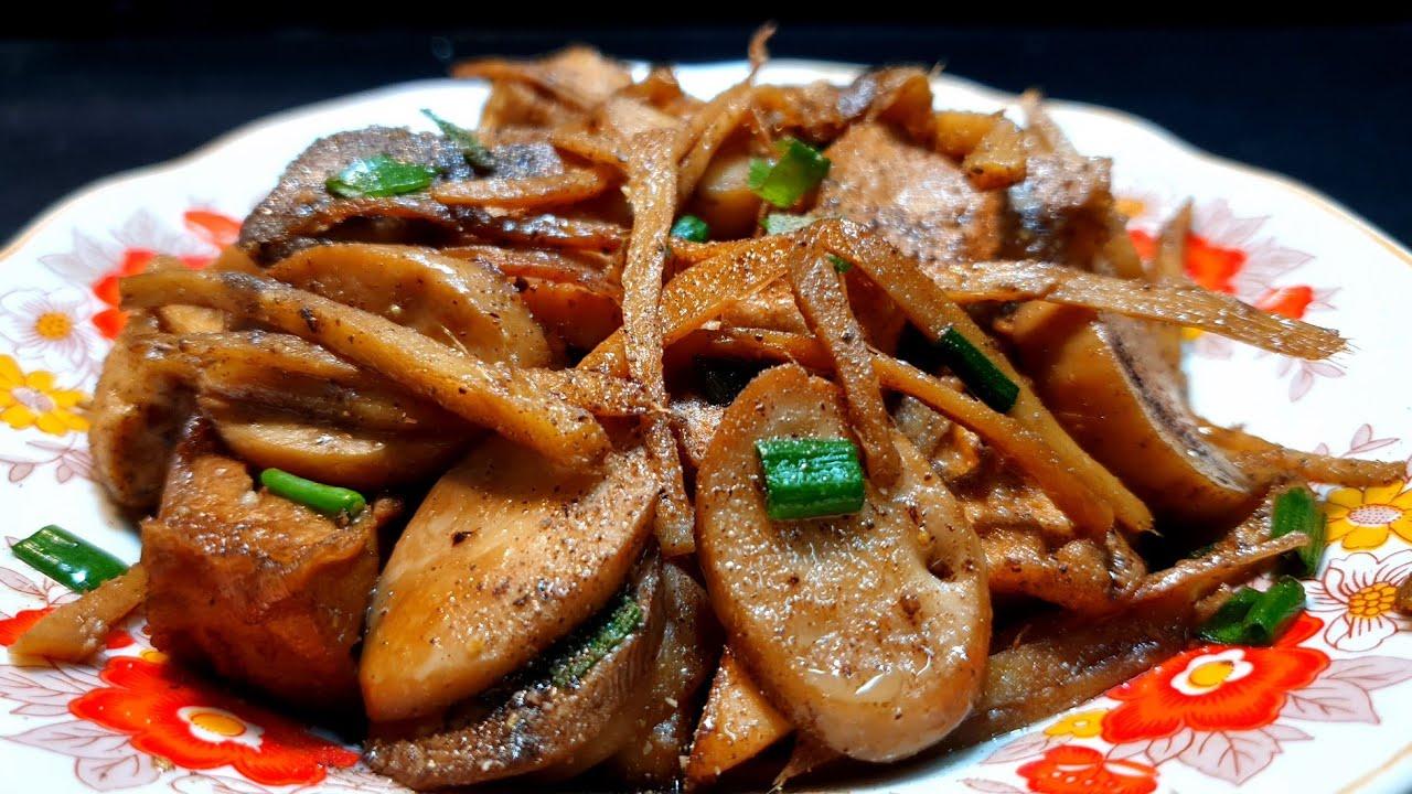 NẤM ĐÙI GÀ KHO GỪNG CHAY món chay ngon dễ làm | món ngon tại nhà chicken mushroom