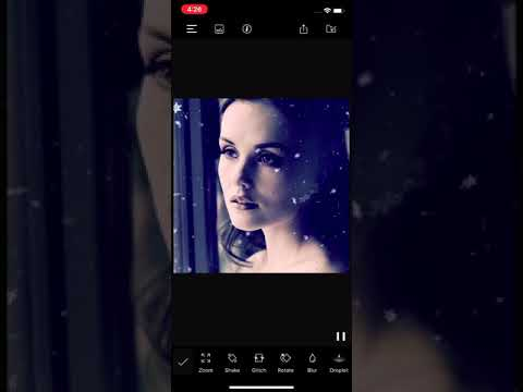 How to use CameraFX & Overlay effects in still photos using PixaMotion iOS App