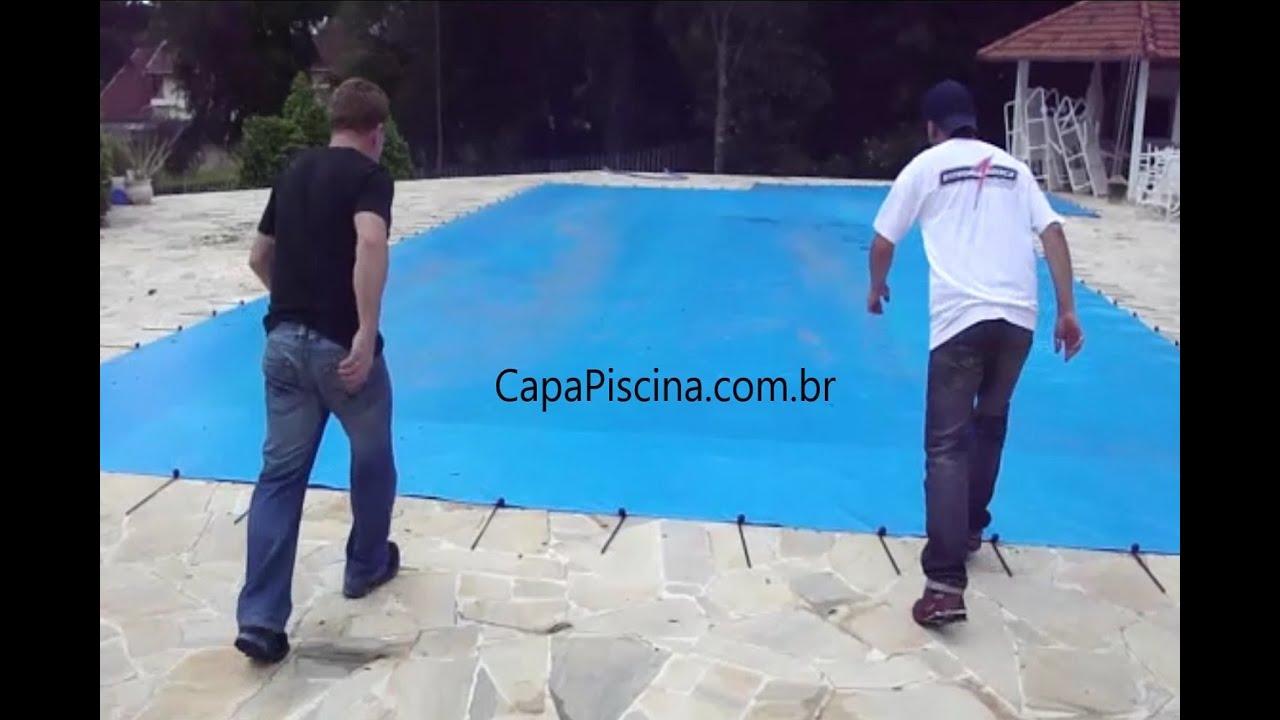 Lona de piscina para seguran a capa t rmica loneiro for Lonas para piscinas baratas