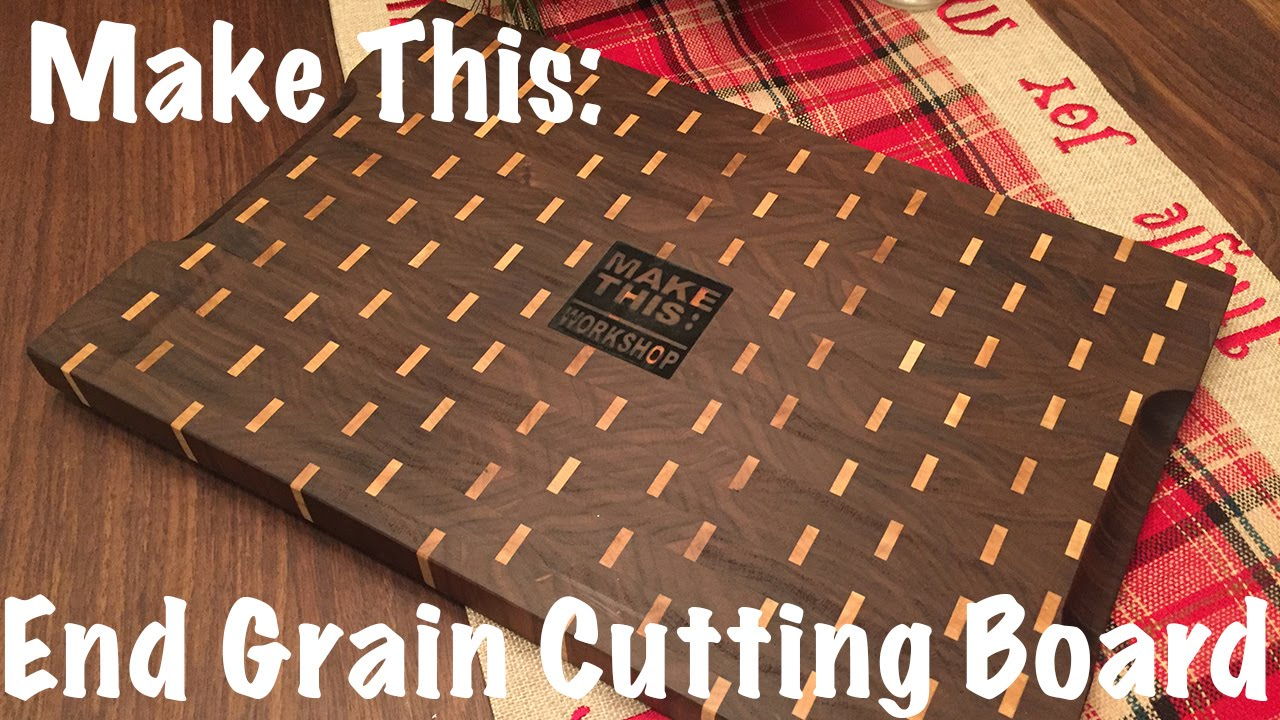make this end grain cutting board brick ish pattern youtube