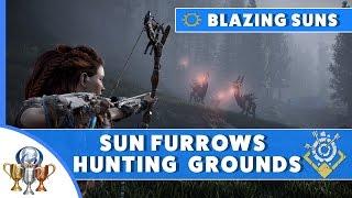 Horizon Zero Dawn Blazing Sun Trials Guide - Sun Furrow Hunting Ground (Ravager/Thunderjaw/Machines)
