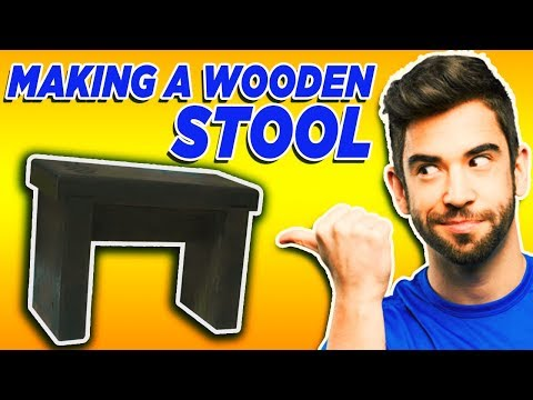 Wooden Stool Plans - How To Make a Stool From Wood