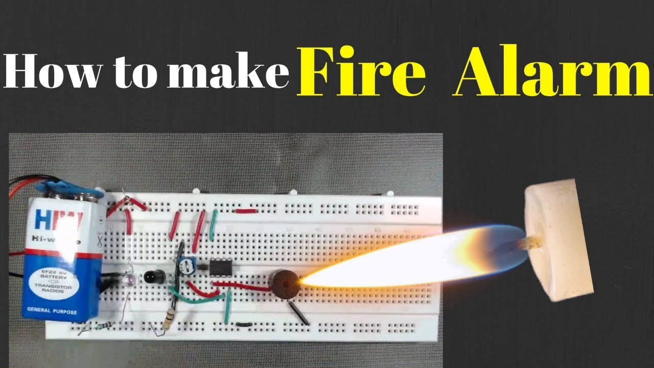Fire Alarm Using Thermistor Youtube General Purpose Circuit For Resistive Sensor