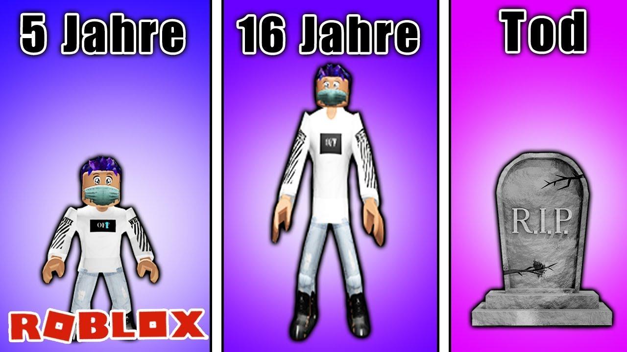 Download EIN GANZES LEBEN BEI ROBLOX! Growing Up - Das ganze Spiel!