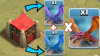 "The WORST combo IN THE GAME!! ""Clash Of Clans"" triple dragon vs me"