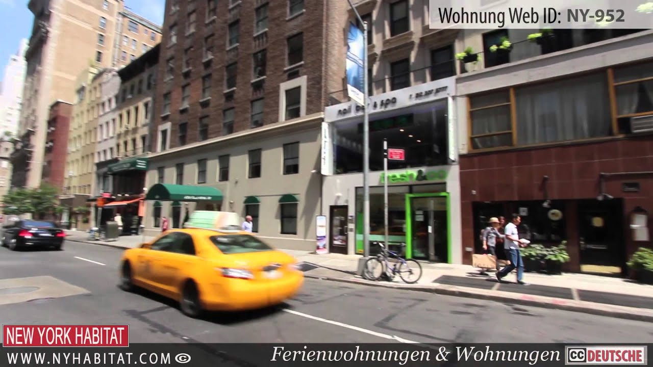 videotour einer m blierten 2 zimmer wohnung in der upper east side in manhattan new york youtube. Black Bedroom Furniture Sets. Home Design Ideas